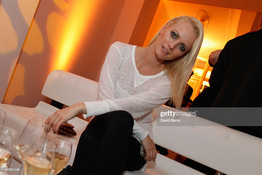Franziska Knuppe attends the Deichmann Shoe Step of the Year 2013 at Curio Haus on November 7, 2013 in Hamburg, Germany.