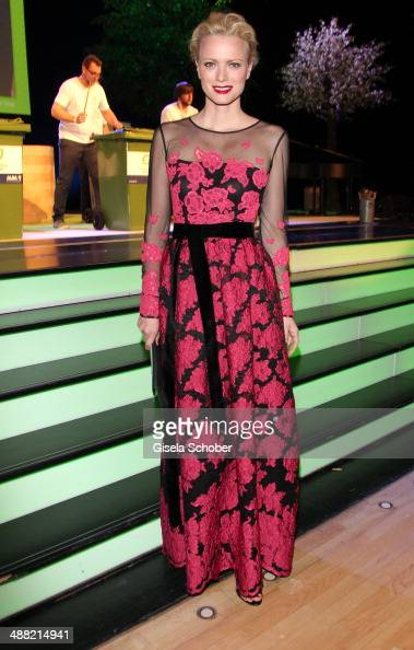 Franziska Knuppe attends the GreenTec Awards 2014 at ICM Munich on May 4 2014 in Munich Germany
