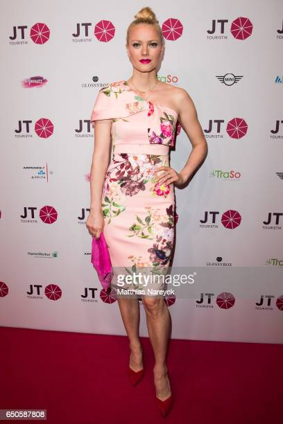 Franziska Knuppe attends the JT Touristik party at Hotel De Rome on March 9 2017 in Berlin Germany