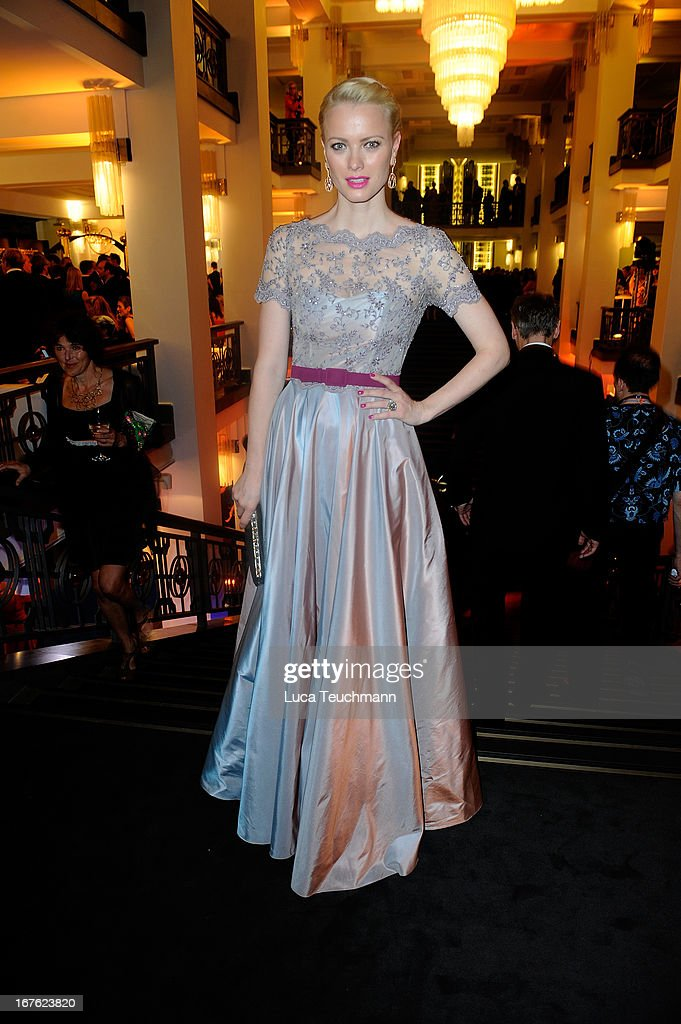 Franziska Knuppe attends the Lola - German Film Award 2013 - Party at Friedrichstadt-Palast on April 26, 2013 in Berlin, Germany.