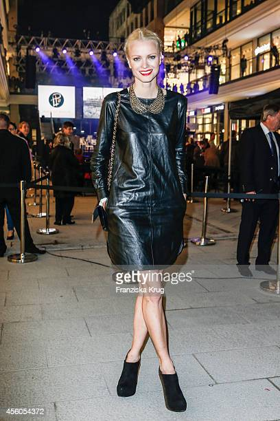 Franziska Knuppe attends the 'LP 12 Mall of Berlin' PreOpening on September 24 2014 in Berlin Germany