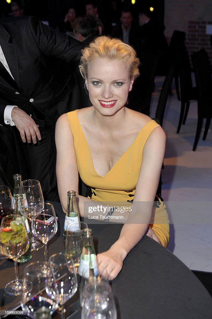 Franziska Knuppe attends the Mira Award 2013 at Station on January 24, 2013 in Berlin, Germany.