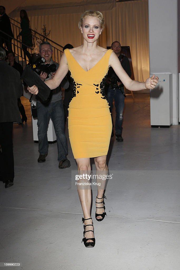 Franziska Knuppe attends the Mira Award 2013 on January 24, 2013 in Berlin, Germany.