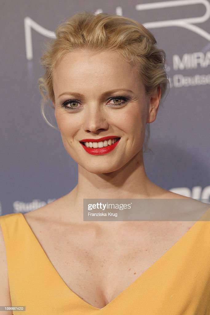 Franziska Knuppe attends the Mira Award 2013 on January 24, 2013 in Berlin, Germany.