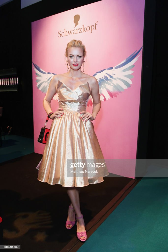 Franziska Knuppe attends the Tribute To Bambi after show party at Station on October 5, 2017 in Berlin, Germany.