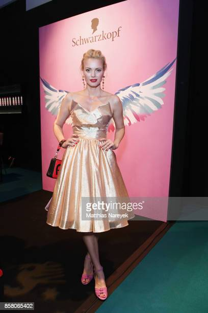 Franziska Knuppe attends the Tribute To Bambi after show party at Station on October 5 2017 in Berlin Germany