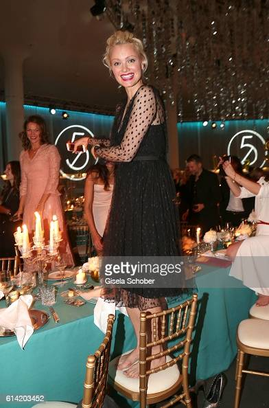 Franziska Knuppe during the 5th anniversary of Westwing on October 12 2016 in Munich Germany