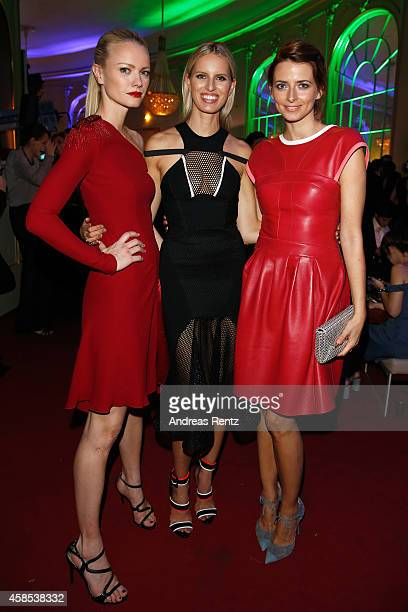Franziska Knuppe Karolina Kurkova and Eva Padberg are seen at the after show party of the GQ Men Of The Year Award 2014 after show party at Komische...