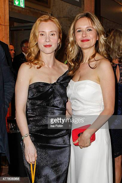 Franziska Petri and Stefanie Stappenbeck attend the German Film Award 2015 Lola at Messe Berlin on June 19 2015 in Berlin Germany