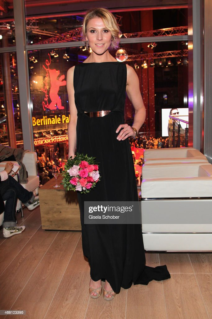 Franziska Weisz attends the AUDI Lounge at the Marlene Dietrich Platz during day 4 of the Berlinale International Film Festival on on February 9, 2014 in Berlin, Germany.