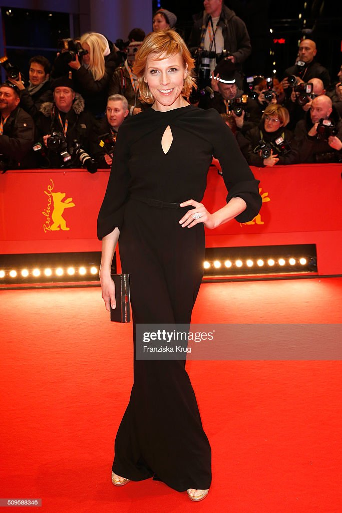 Franziska Weisz attends the 'Hail, Caesar!' premiere during the 66th Berlinale International Film Festival Berlin at Berlinale Palace on February 11, 2016 in Berlin, Germany.