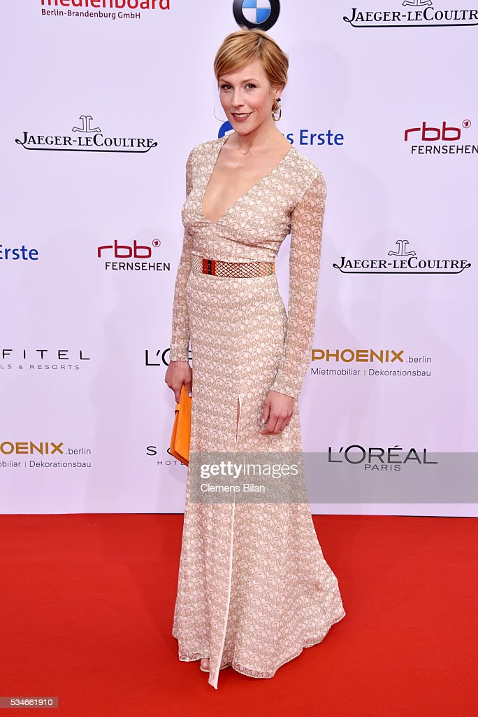 <a gi-track='captionPersonalityLinkClicked' href=/galleries/search?phrase=Franziska+Weisz&family=editorial&specificpeople=2559481 ng-click='$event.stopPropagation()'>Franziska Weisz</a> attends the Lola - German Film Award (Deutscher Filmpreis) on May 27, 2016 in Berlin, Germany.