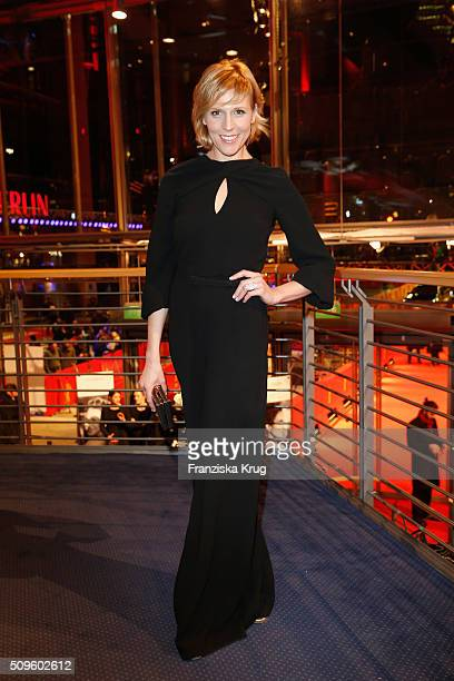 Franziska Weisz attends the opening party of the 66th Berlinale International Film Festival Berlin at Berlinale Palace on February 11 2016 in Berlin...