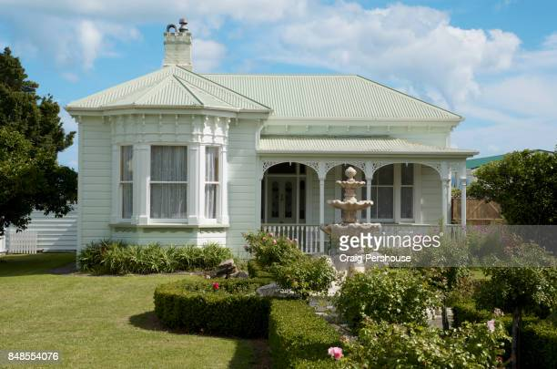 Fraser House, one of the many heritage buildings in Coromandel Town.