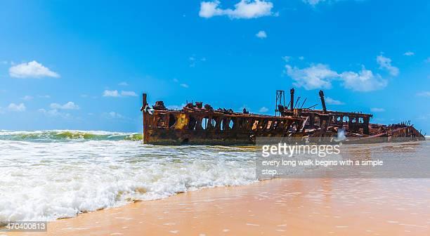 Fraser Island - SS Maheno Shipwreck