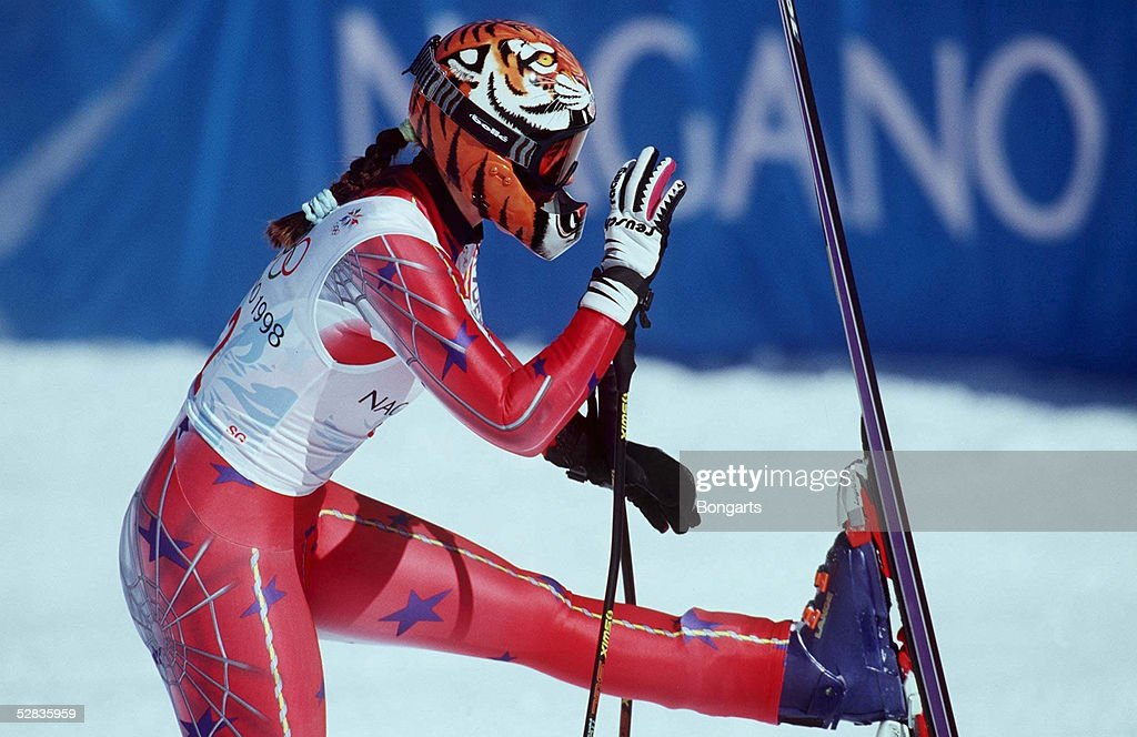 Frauen am 11.02.98, Picabo STREET (USA) - GOLD