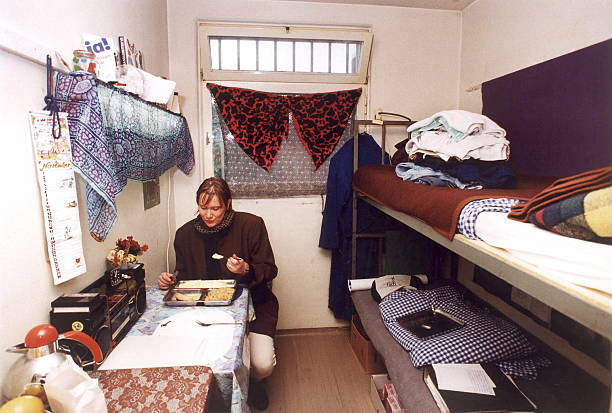 strafvollzugsanstalten d ab 1992 pictures getty images. Black Bedroom Furniture Sets. Home Design Ideas