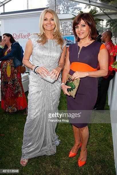 Frauke Ludowig and Birgit Schrowange attend the Raffaello Summer Day 2014 on June 21 2014 in Berlin Germany