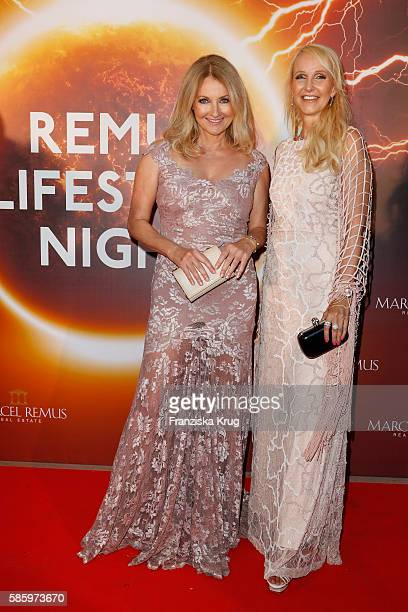 Frauke Ludowig and Kristiana Bach attend the Remus Lifestyle Night 2016 on August 4 2016 in Palma de Mallorca Spain