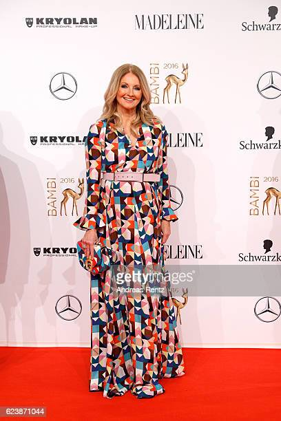 Frauke Ludowig arrives at the Bambi Awards 2016 at Stage Theater on November 17 2016 in Berlin Germany