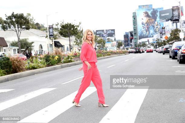 Frauke Ludowig at Sunset Plaza on February 26 2017 in Los Angeles California