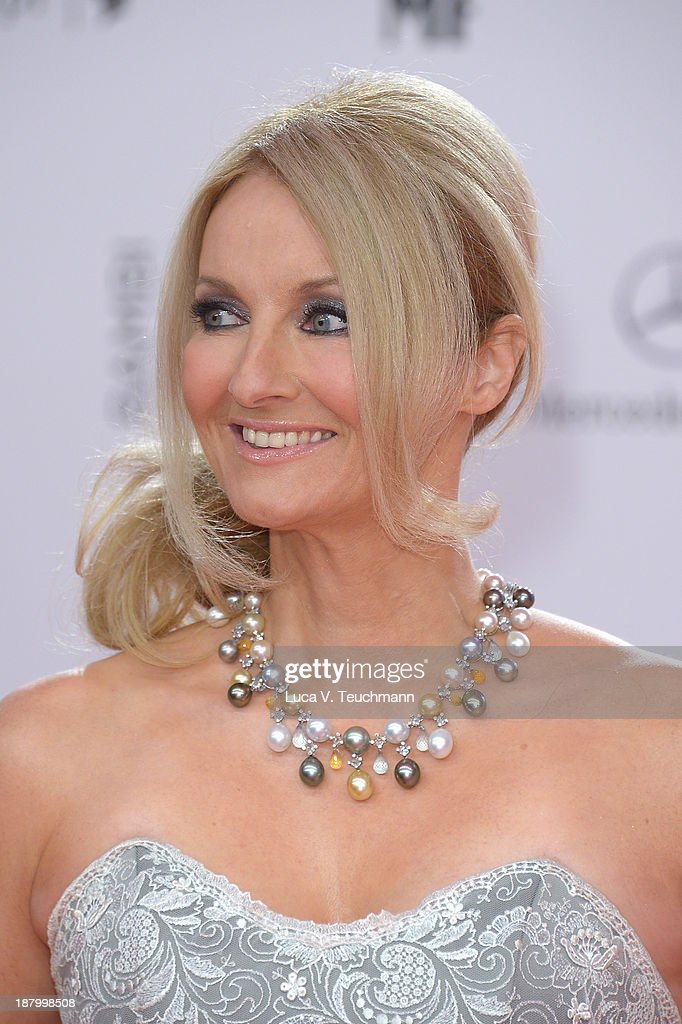 Frauke Ludowig attends the Bambi Awards 2013 at Stage Theater on November 14, 2013 in Berlin, Germany.