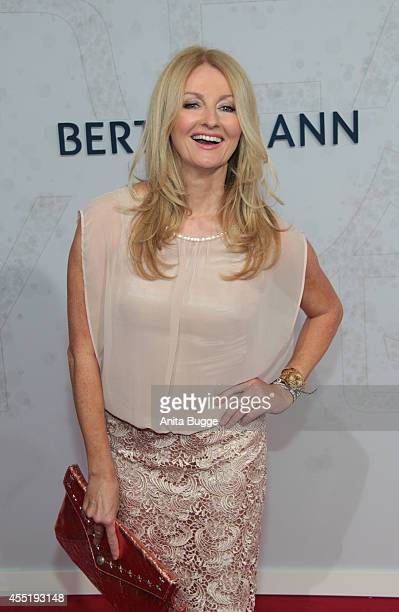 Frauke Ludowig attends the Bertelsmann Summer Party at the Bertelsmann representative office on September 10 2014 in Berlin Germany