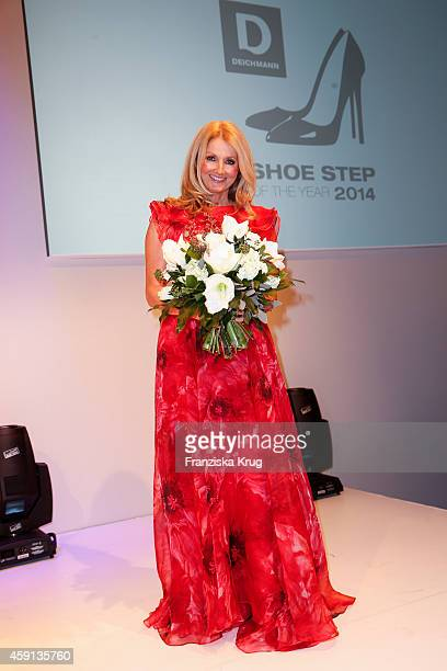 Frauke Ludowig attends the Deichmann Shoe Step of the Year 2014 on November 17 2014 in Hamburg Germany