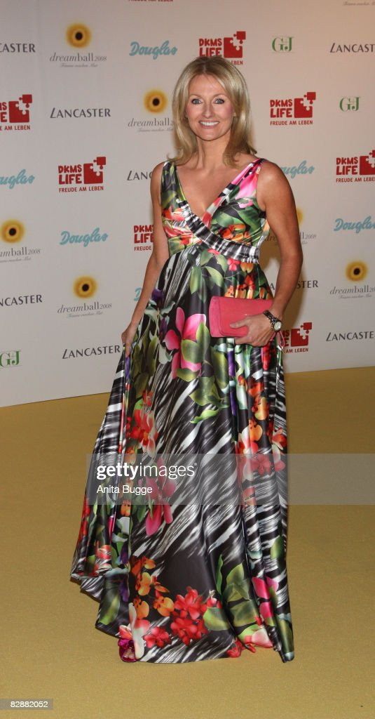 Frauke Ludowig attends the Dreamball 2008 charity gala in the Martin-Gropius Building on September 18, 2008 in Berlin, Germany.