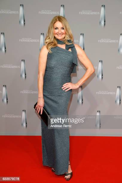 Frauke Ludowig attends the German Television Award at Rheinterrasse on February 2 2017 in Duesseldorf Germany