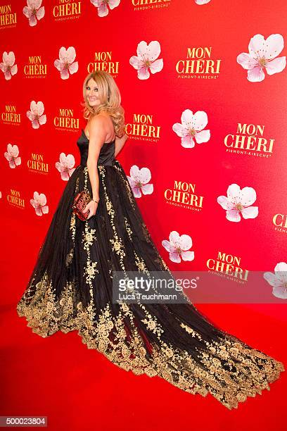 Frauke Ludowig attends the Mon Cheri Barbara Tag 2015 at Postpalast on December 4 2015 in Munich Germany