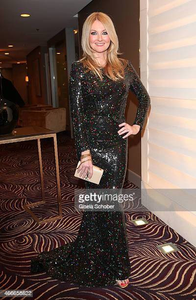Frauke Ludowig during the PEOPLE Magazine Germany launch party at Waldorf Astoria on March 17 2015 in Berlin Germany