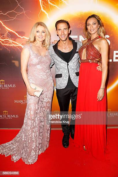 Frauke Ludowig Marcel Remus and Lilly Becker attend the Remus Lifestyle Night 2016 on August 4 2016 in Palma de Mallorca Spain