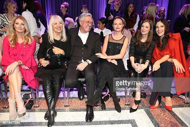 Frauke Ludowig Ute Schlotterer and her husband Helmut Schlotterer Founder and CEO of Marc Cain Kate Bosworth Alexandra Maria Lara and Bettina...