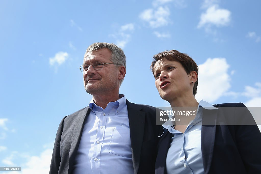 AfD Political Party Presents New Leadership As Party Splinters