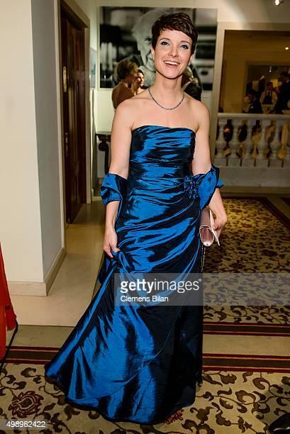 Frauke Petry Chairwoman of the Alternative fuer Deutschland political party attends the Bundespresseball 2015 at Hotel Adlon on November 27 2015 in...