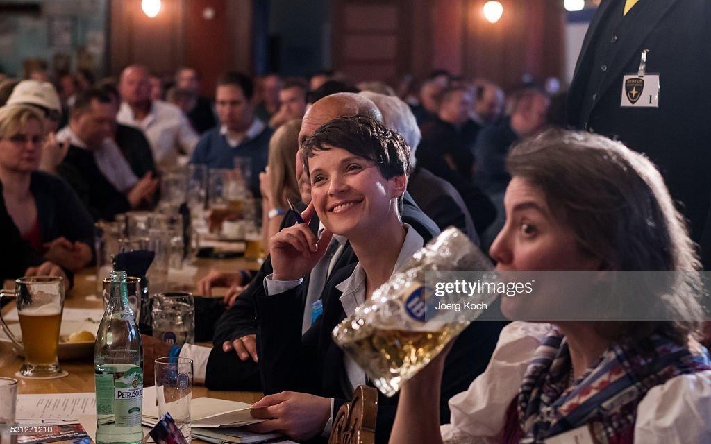 AfD Holds Gathering In Hofbraeukeller Restaurant