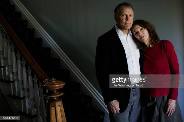 Fred and Cindy Warmbier stand in their home Their son Otto Warmbier is incarcerated in North Korea after having been convicted and sentenced to 15...
