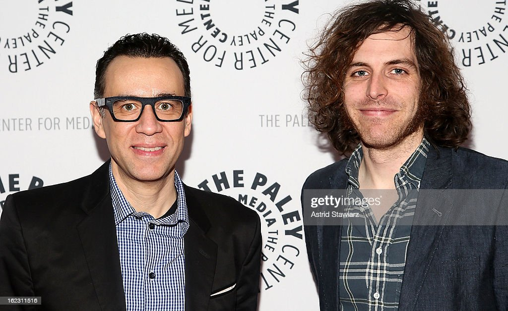 Fred Armisen and Jonathan Krisel attend The Paley Center For Media Presents: 'Dream Of...An Evening With Fred Armisen' at The Paley Center For Media on February 21, 2013 in New York City.