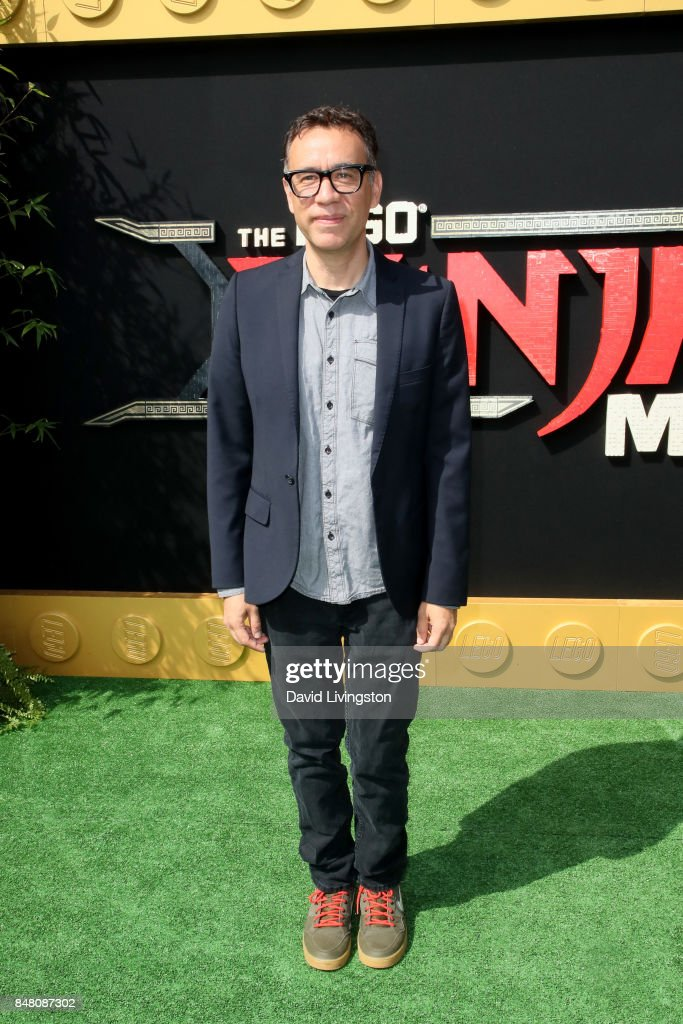 Fred Armisen at the premiere of Warner Bros. Pictures' 'The LEGO Ninjago Movie' at Regency Village Theatre on September 16, 2017 in Westwood, California.