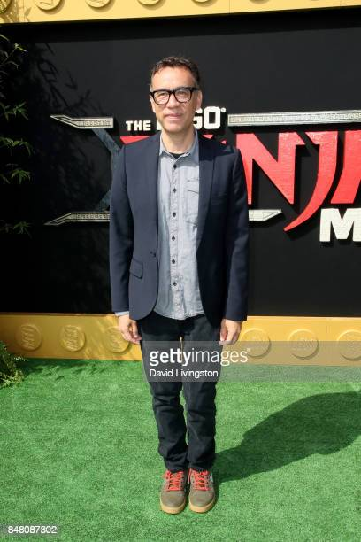 Fred Armisen at the premiere of Warner Bros Pictures' 'The LEGO Ninjago Movie' at Regency Village Theatre on September 16 2017 in Westwood California