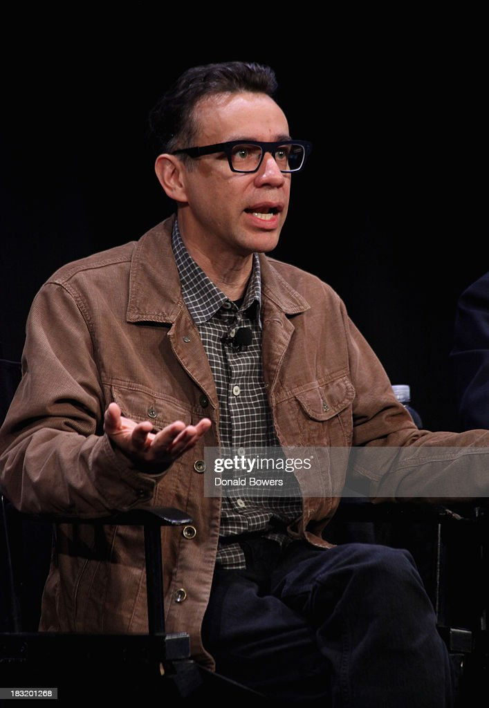 Fred Armisen attends The New Yorker Festival 2013 - An Evening With Funny Or Die Hosted By Billy Eichner at Acura at SIR Stage37 on October 5, 2013 in New York City.