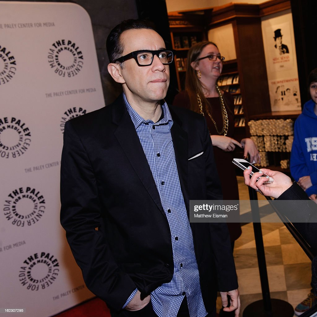 <a gi-track='captionPersonalityLinkClicked' href=/galleries/search?phrase=Fred+Armisen&family=editorial&specificpeople=221426 ng-click='$event.stopPropagation()'>Fred Armisen</a> attends The Paley Center for Media Presents: 'Dream Of...An Evening with <a gi-track='captionPersonalityLinkClicked' href=/galleries/search?phrase=Fred+Armisen&family=editorial&specificpeople=221426 ng-click='$event.stopPropagation()'>Fred Armisen</a>' at Paley Center for Media on February 21, 2013 in New York City.