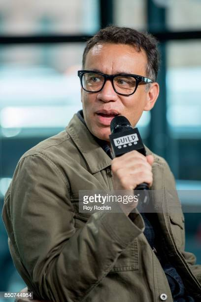Fred Armisen discusses 'The LEGO Ninjago Movie' with the Build Series at Build Studio on September 21 2017 in New York City