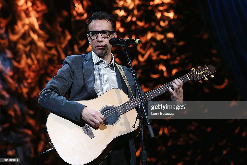 Fred Armisen performs onstage at 'Howard Stern's Birthday Bash' presented by SiriusXM produced by Howard Stern Productions at Hammerstein Ballroom on...