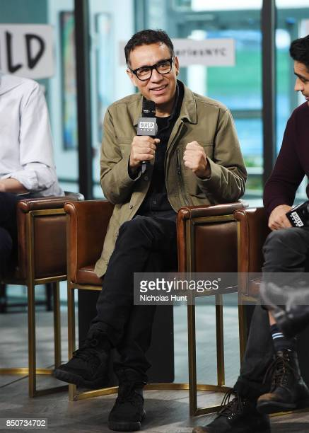 Fred Armisen visits the Build Series to discuss the animated film 'The LEGO Ninjago Movie' at Build Studio on September 21 2017 in New York City