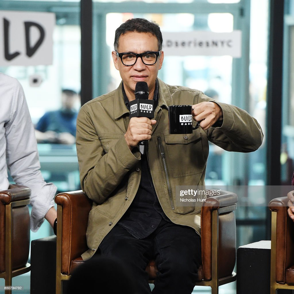 Fred Armisen visits the Build Series to discuss the animated film 'The LEGO Ninjago Movie' at Build Studio on September 21, 2017 in New York City.
