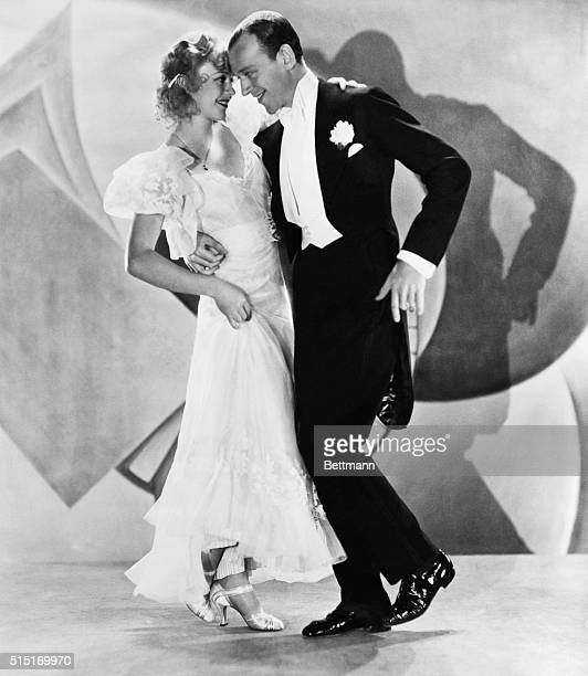 Fred Astaire and Ginger Rogers dancing in moving picture 'Flying Down to Rio' Movie Still