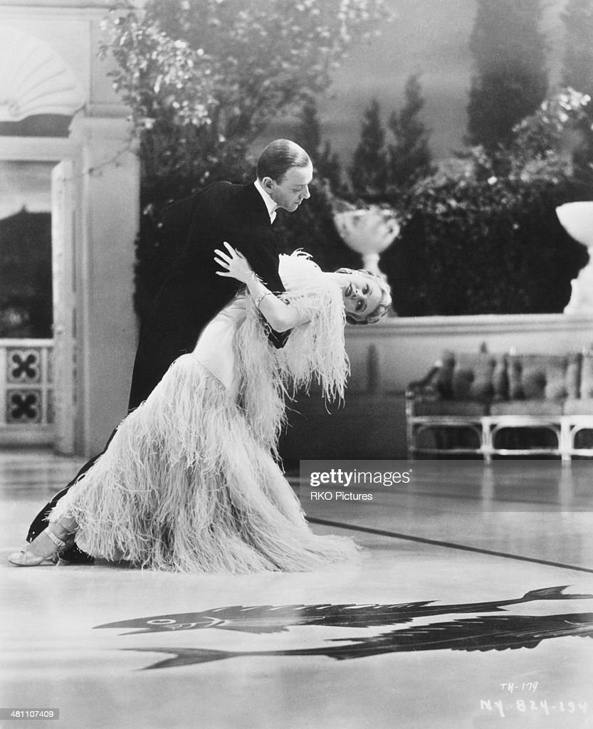<a gi-track='captionPersonalityLinkClicked' href=/galleries/search?phrase=Fred+Astaire&family=editorial&specificpeople=70031 ng-click='$event.stopPropagation()'>Fred Astaire</a> (1899 - 1987) and <a gi-track='captionPersonalityLinkClicked' href=/galleries/search?phrase=Ginger+Rogers&family=editorial&specificpeople=93466 ng-click='$event.stopPropagation()'>Ginger Rogers</a> (1911 - 1995) in a dance scene from the musical comedy film 'Top Hat', directed by, Mark Sandrich, 1935.