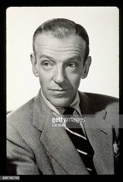 Fred Astaire He is shown in a headandshoulders view wearing a suit and tie Undated photograph